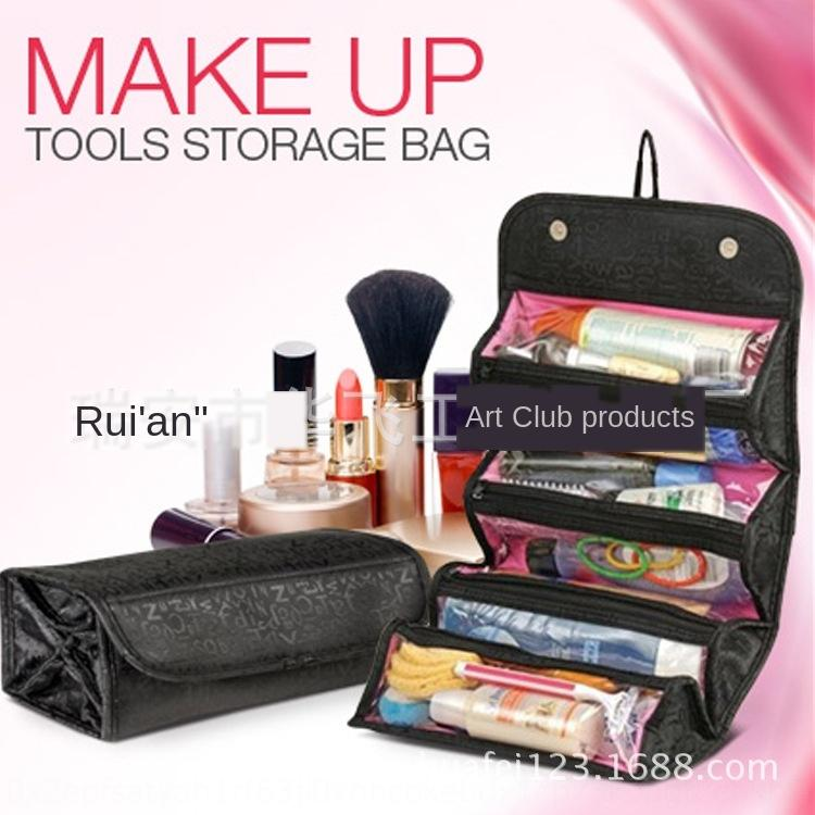 TV hot-selling Storage cosmetic Roll-N-Go Cosmetic Bag large capacity multifunctional storage Bag