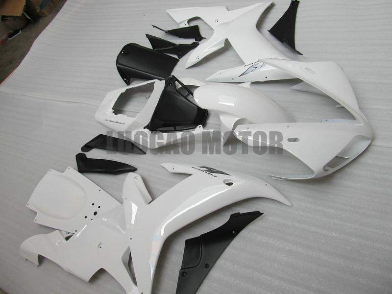 Enjeksiyon Yamaha YZF 1000 r1 2002 2003 Kalafatlama YAMAHA YZF 1000 R1 02-03 grenaj kitleri YZF R1 02-03 2002 2003 ABS bodykits # 43e4y beyaz