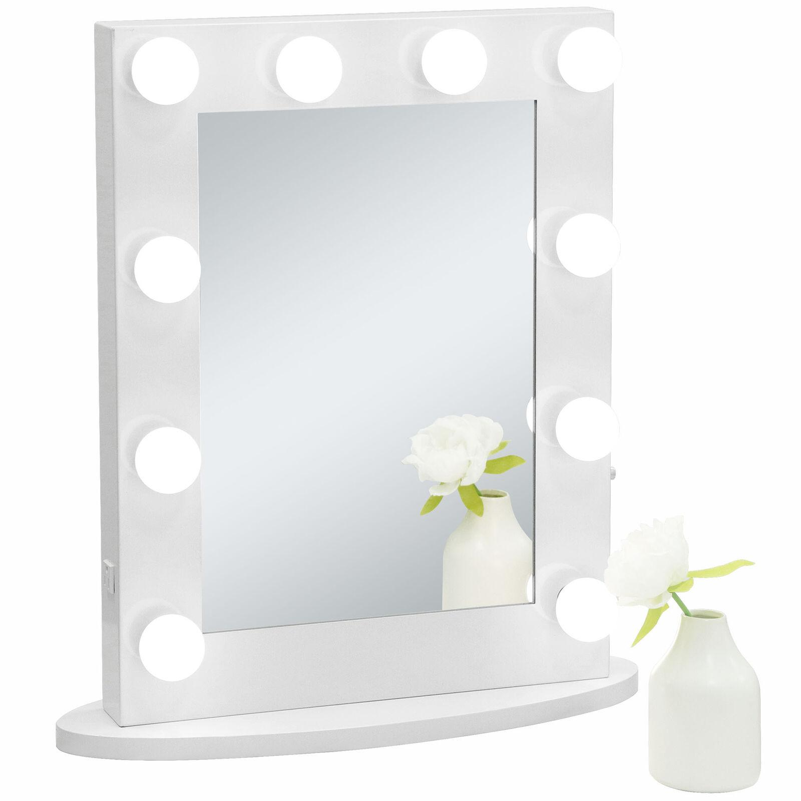 Picture of: Hollywood Makeup Vanity Mirror Led Light With 10 Dimmable Bulbs Wall Mounted Large Room Mirrors Large Round Mirror From Jiangmingsheng 74 28 Dhgate Com