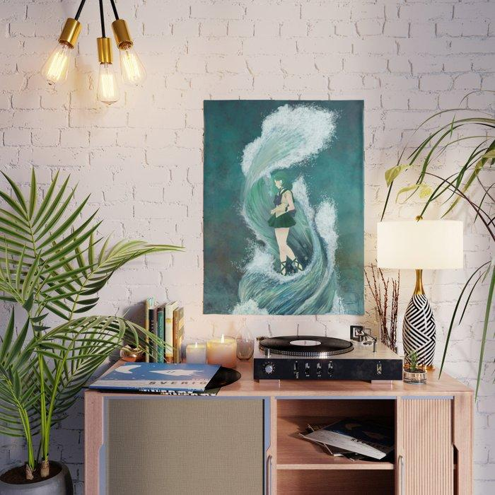 Water Sailor Moon Anime Japan Wall Art Home Decor Hd Print Modular Pictures Posters Canvas Painting For Bedroom Artwork Frame