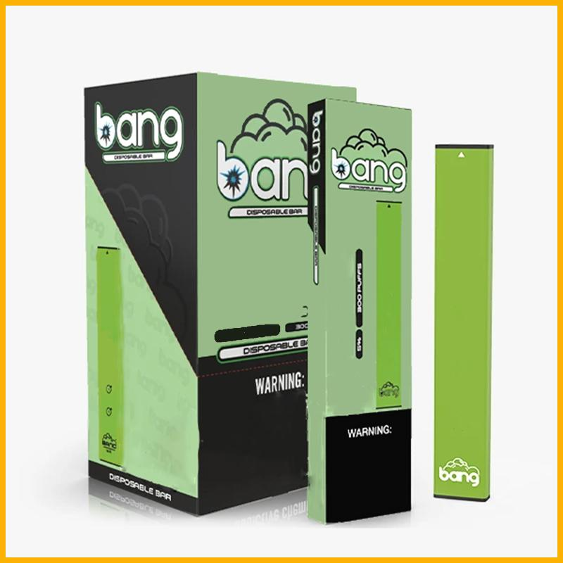 Os mais recentes dispositivos bang XL descartável Pod Starter Kit 450mAh Batter 600 Puffs Per Bar, a 2,0 ml carrinhos Wthin O reservatório interno