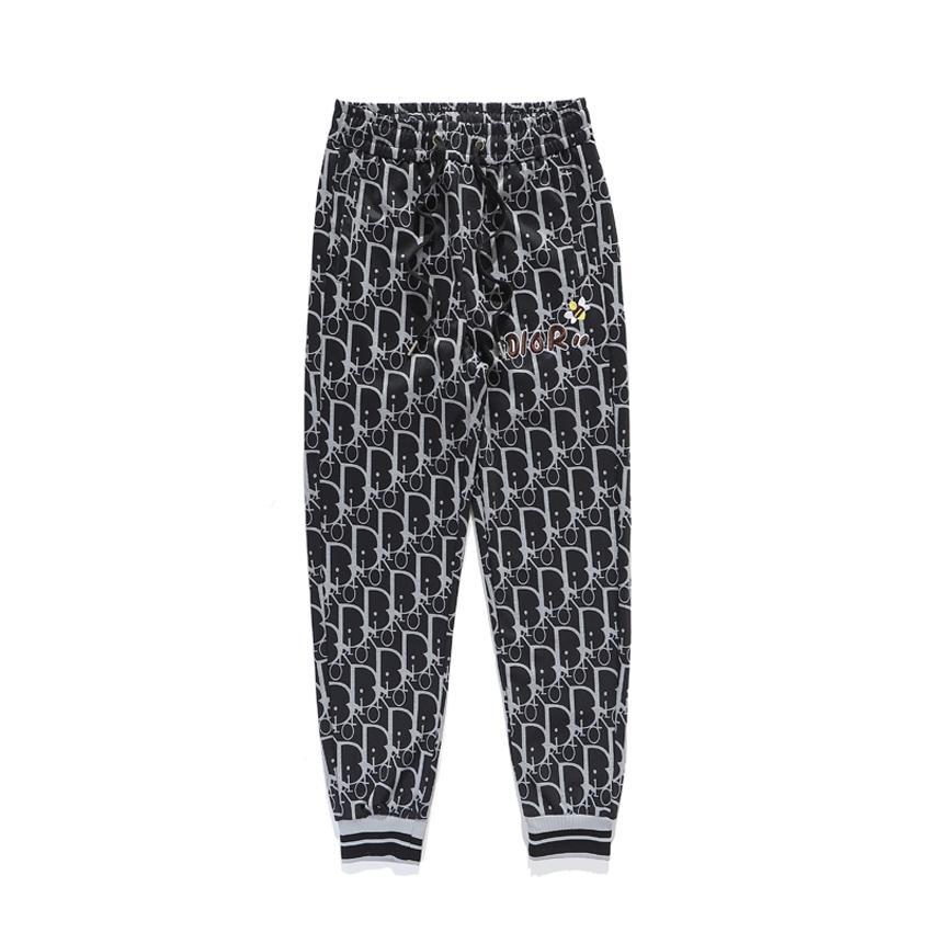 2020 tasarımcı erkek spor pantolon hip-hop yüksek kaliteli koşu parkuru pantolon streetwear alfabe kadın fitness pantolon S-2XL koşu