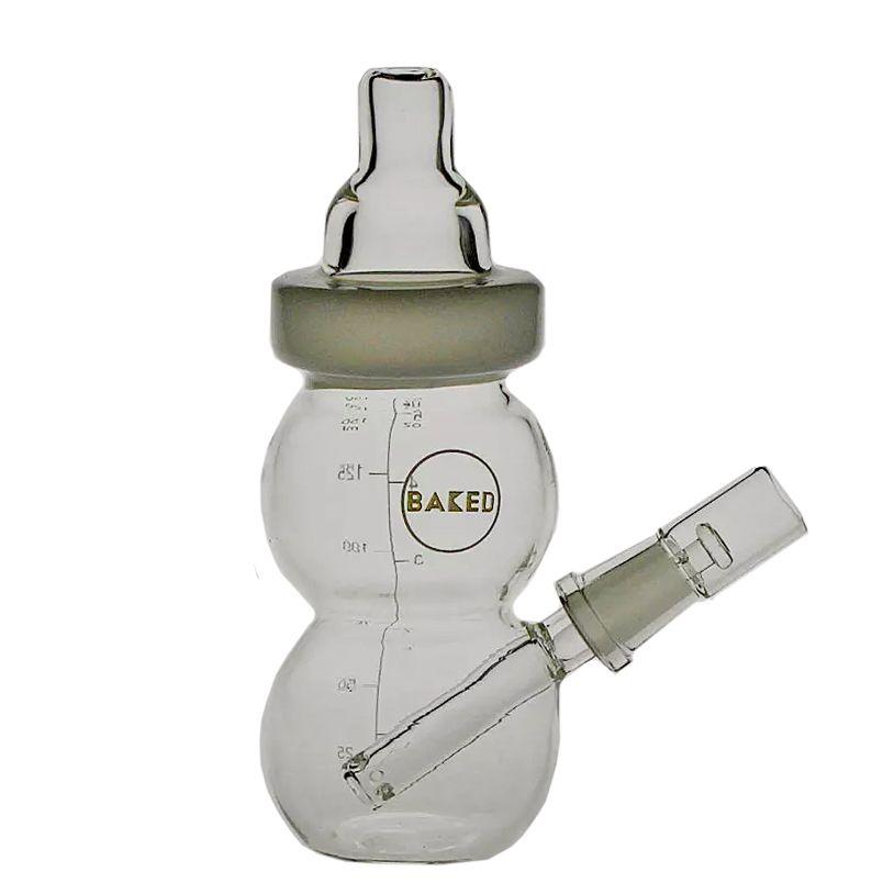Matrixr бутылки Dab Rig Ice Cream Бонг стекла детских бутылочек Oil Rig Джейд чашка воды курительная трубка Joint размер 14.4mm PG5051 / 54/56/58 Радом цвет