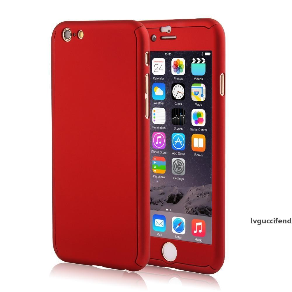 360 Full Body Coverage Coque Phone Cases For IPhone 5 5s SE 6 6s ...