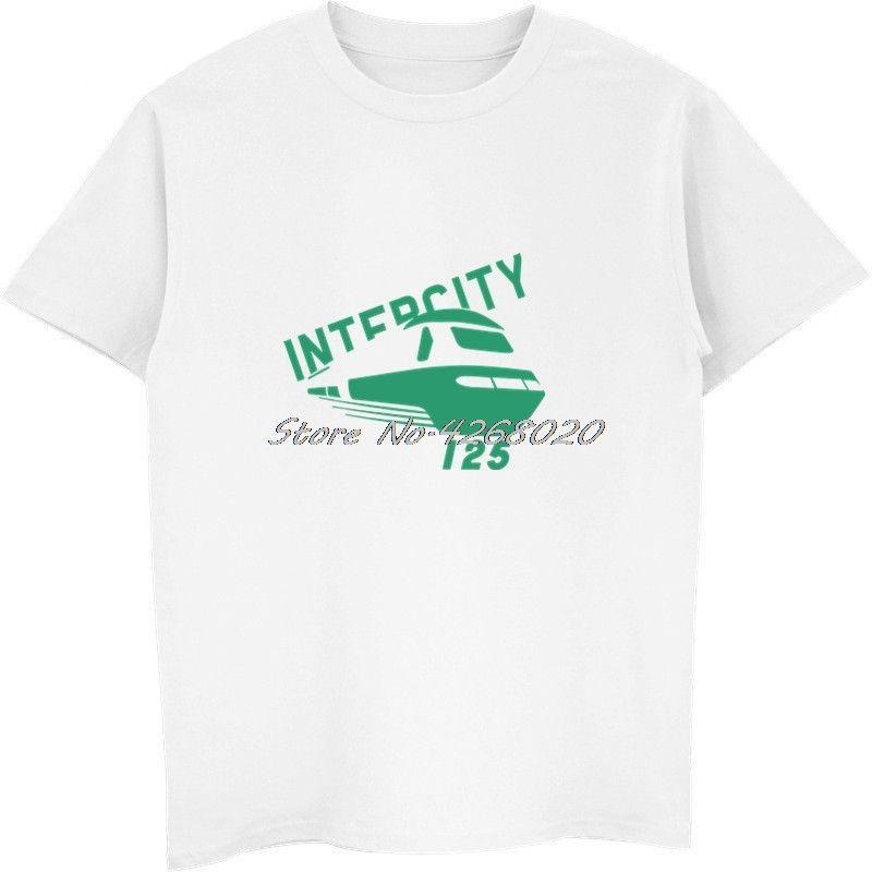 Nouveau style d'été de la mode T-shirt Intercity 125 Train à grande vitesse T-Shirt Casual Male T-shirts manches courtes en coton Hip Hop T