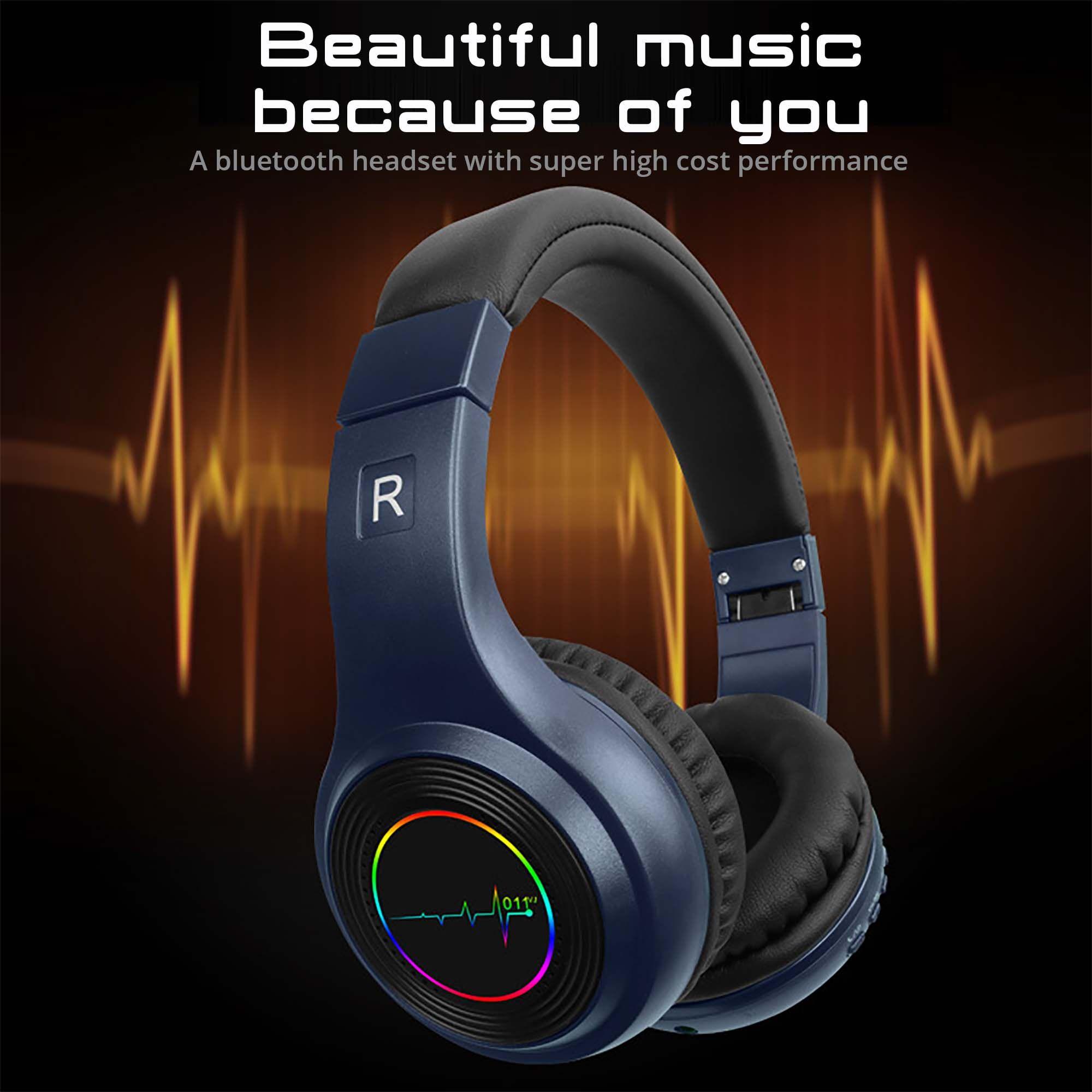 VJ011 بلوتوث الحقيقية لاسلكية سماعات الرأس استوديو TWS خلال سماعات الأذن الألعاب مصمم cuffie إلغاء الضوضاء سماعة DJ عقال