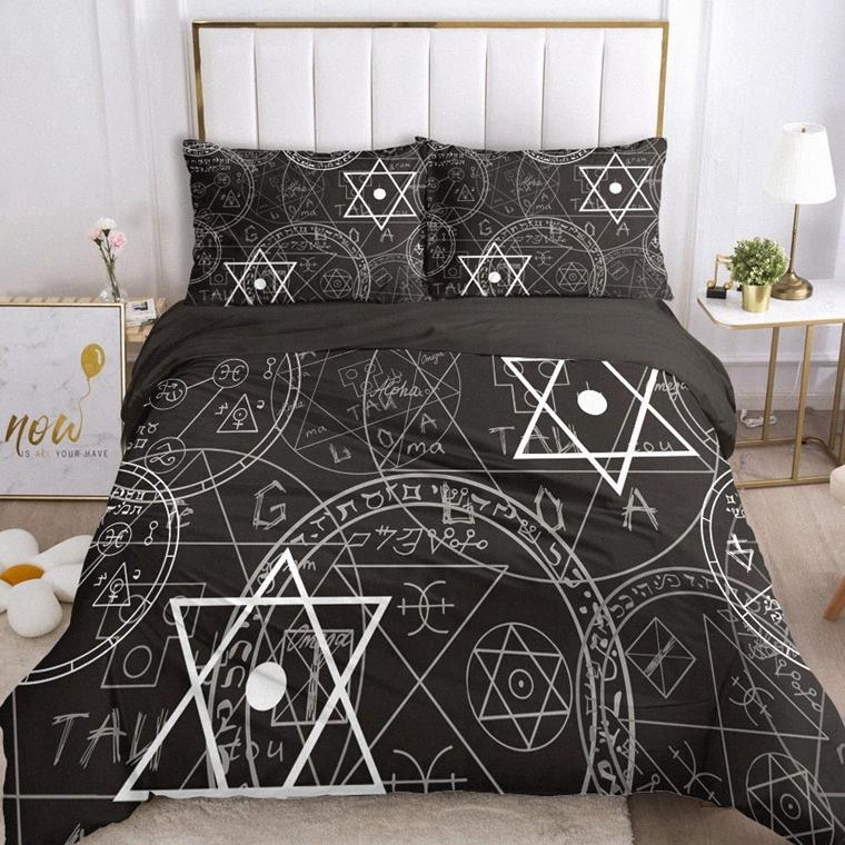 Luxury Bedding Sets Double Size 3D Duvet Cover Set Queen King Blanket/Quilt/Comforter Cover And Pillowcase Bed Set 2 Magic bSoK#