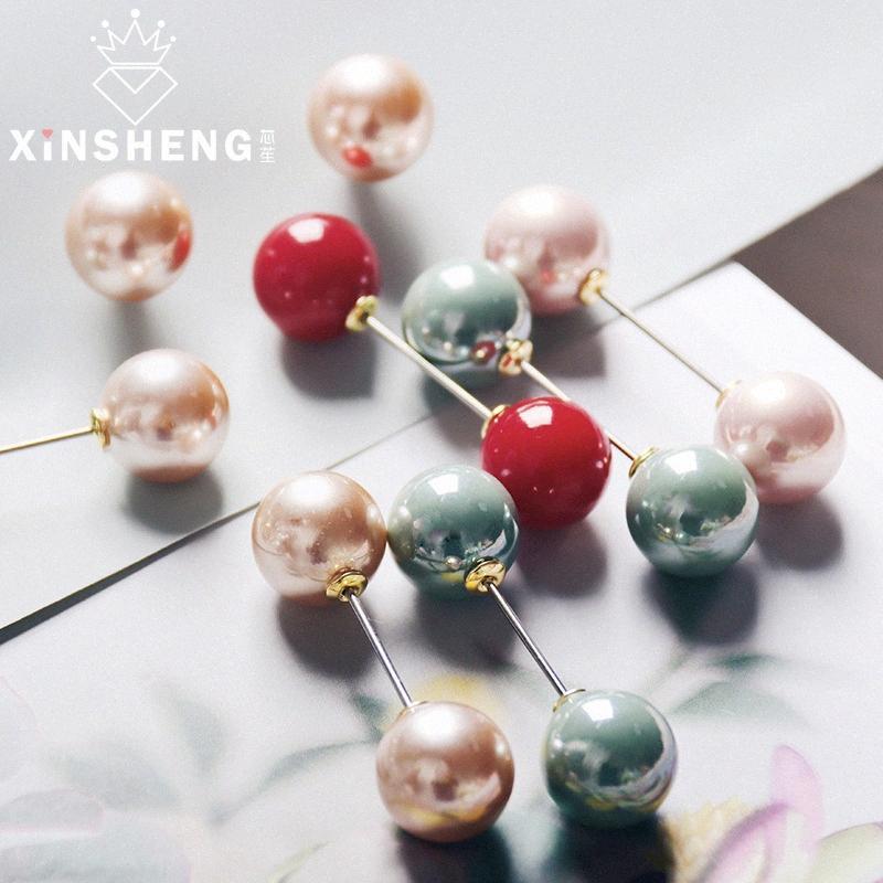 5pcs / lot Perle Ronde Head Pins Mariages Dressmaking Bouquet Pin Corsage Fleuristes à coudre Artisanat Pin Accessoires bricolage Outils kwu4 #