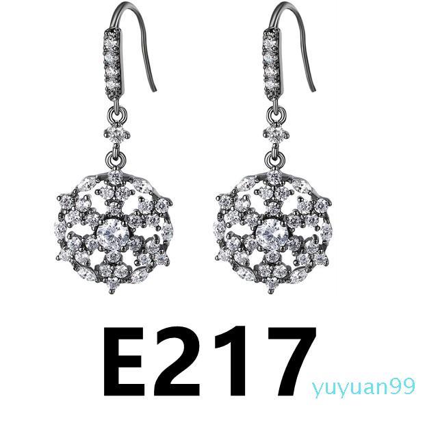 lusso- E217-E226 più nuove donne di goccia classico orecchini per le donne ragazza Vintage