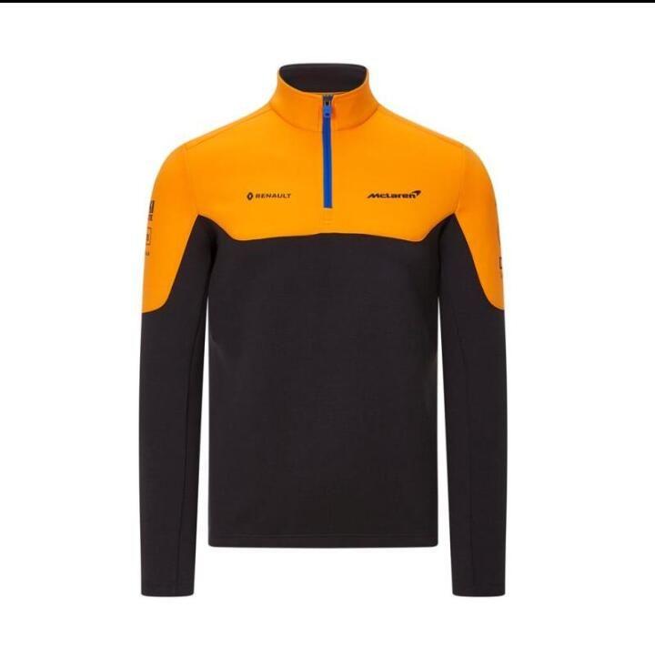 F1 McLaren McLaren 2020 1/4 zipper shirt sports sweater jacket with the same custom