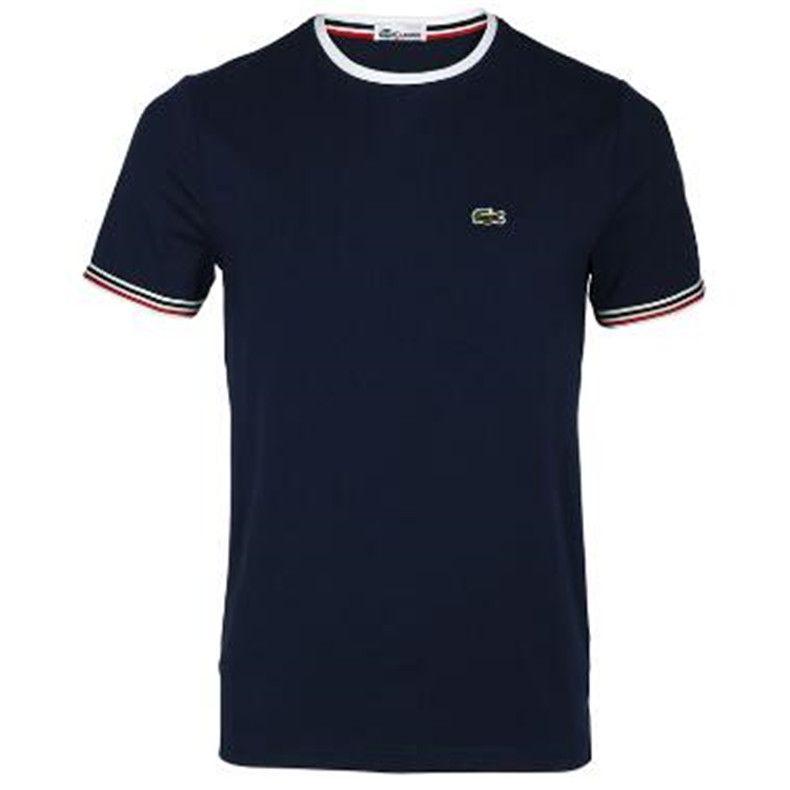 homens s vestuário Designer Top Quality Homens Mulheres T-shirt Moda Imprimir manga curta Tees Lacoste