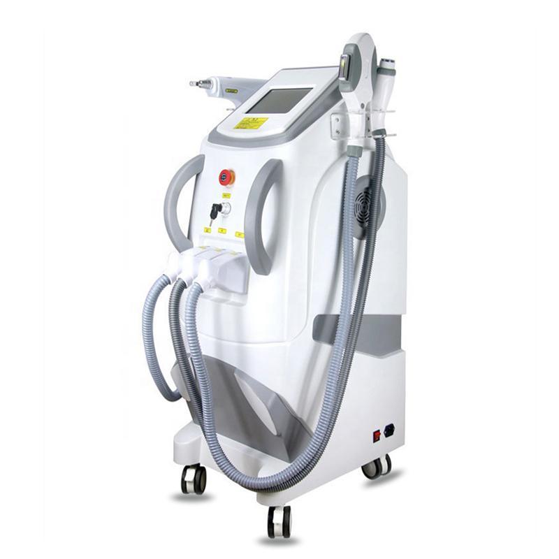 2020 Extracción portátil Yag láser máquina de pigmento del punto de dispositivo Conmutador SHR IPL Q Yag Lazer Pelos eliminación de tatuajes con láser