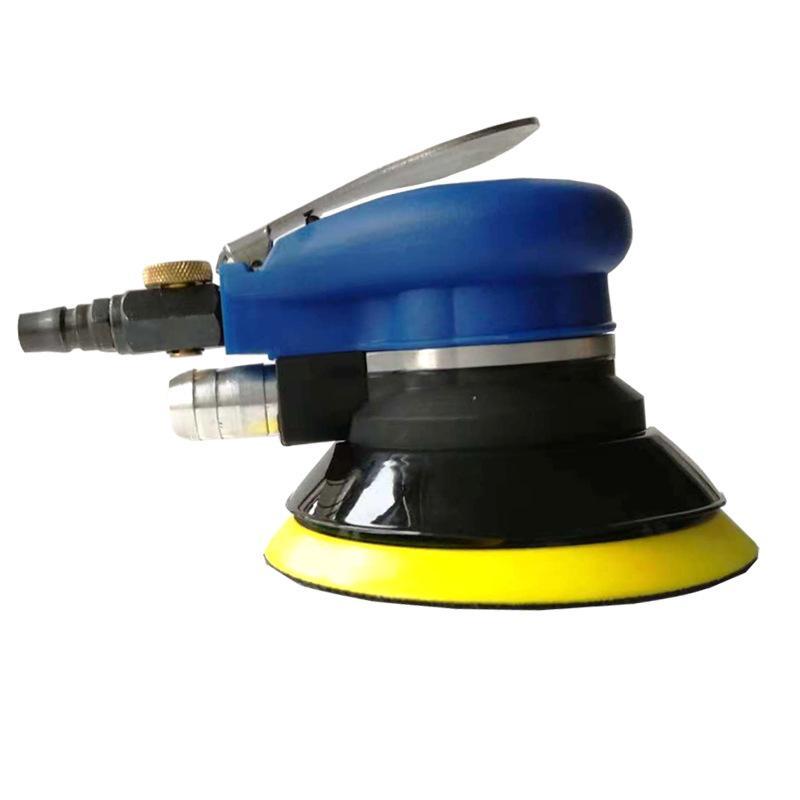 5 ou 6 pouces pneumatique ponceuse vide dérouillage mécanique de l'outil de ponçage de bois auto broyeur à air de ponçage polissage de voiture de broyage