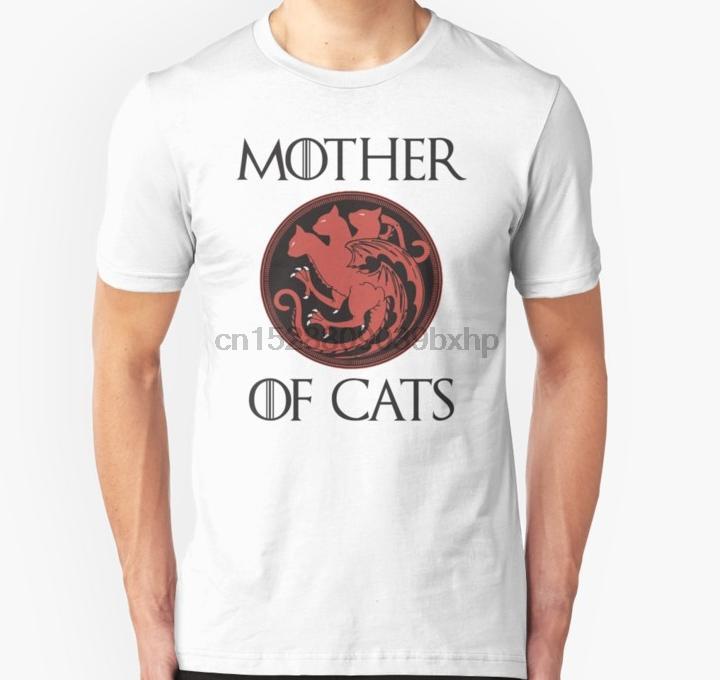 Gli uomini della maglietta Mother Of Cats unisex T Shirt T-Shirt T top