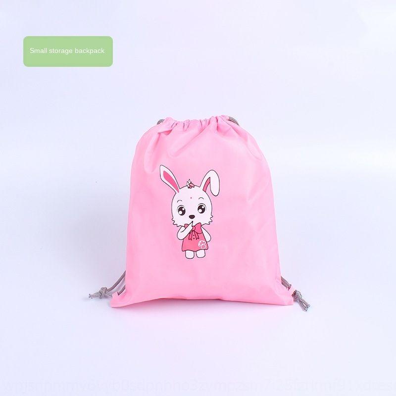 0N0Dm small items bag children's storage small storage backpack raincoat cartoon bag raincoat