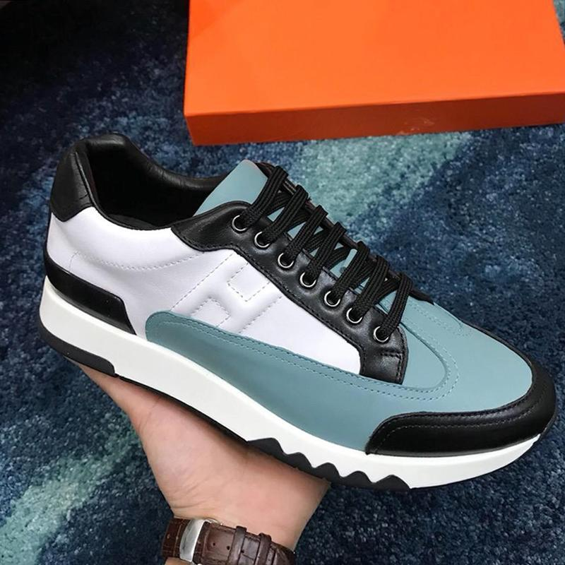 Neue Ankunfts-Trail Sneaker Herrenschuhe Sale Fast Delivery Leichte Outdoor-Gehen Chunky Turnschuhe plus Größe Art-Spitze -Bis Herren Schuhe