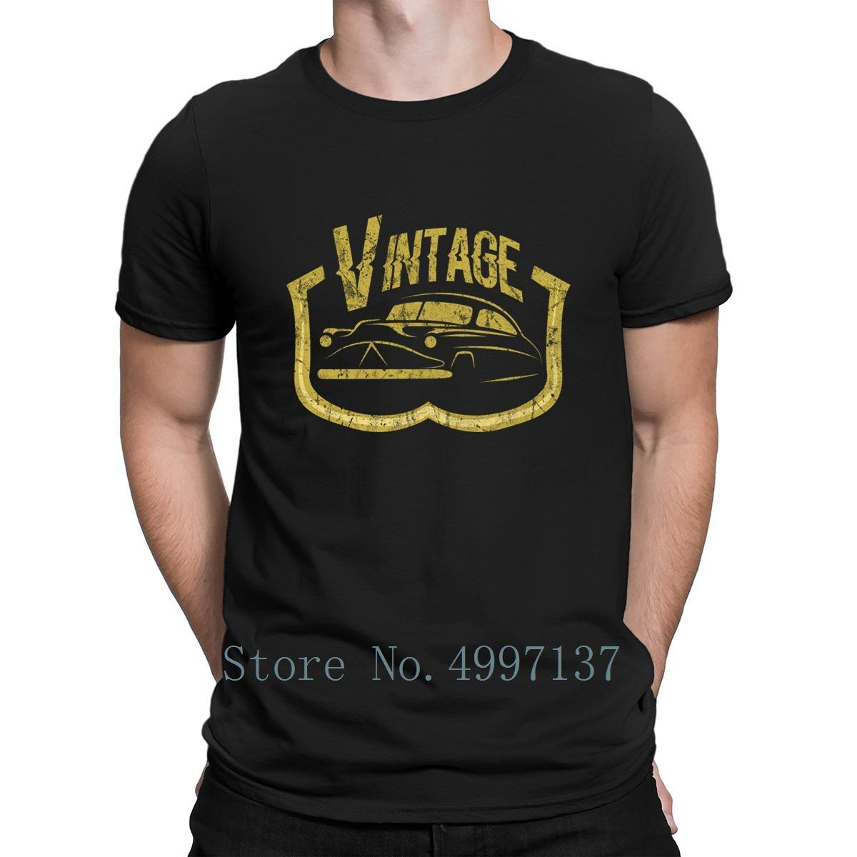 Car Automobile Engine Gift Idea T Shirt Basic Solid Cotton Spring Autumn Customized Crew Neck Cute Trend Comical Shirt