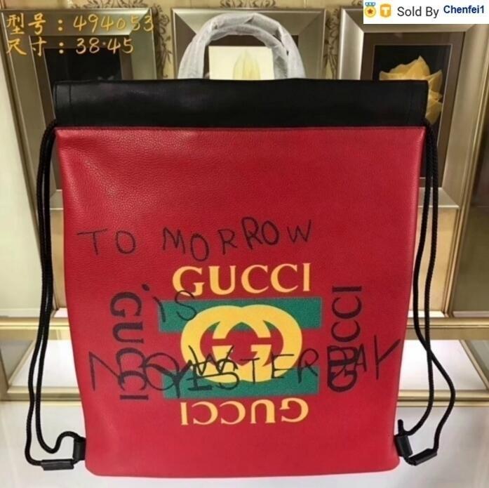 chenfei1 7KH2 494053 Top LEATHER BAG RED Handtasche Rucksack Hobohandtaschen HAND BOSTON CROSS BODY MESSENGER UMHÄNGETASCHEN