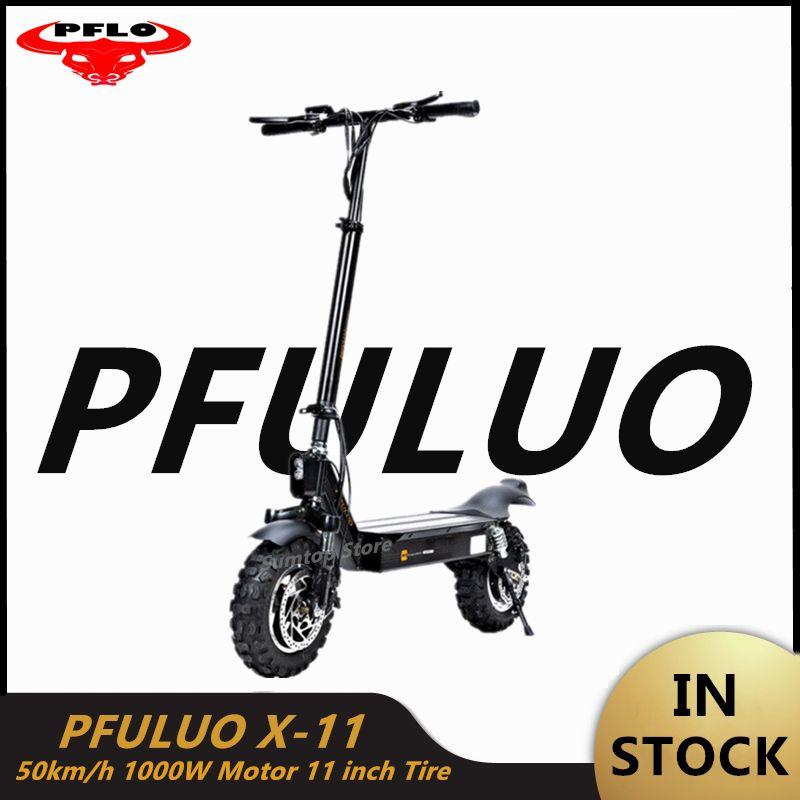2020 Nova PFULUO X-11 inteligente Scooter elétrico 1000W Motor de 11 polegadas 2 roda Conselho hoverboard skate 50 kmh Velocidade máxima Off-road