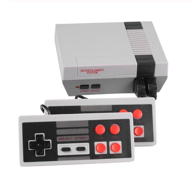 Retro Mini TV Oyun Konsolu 8 Bit Taşınabilir Oyun Oyuncu AV Liman Çocuk Video Oyun Konsolu Var 500/620 Klasik Oyunlar