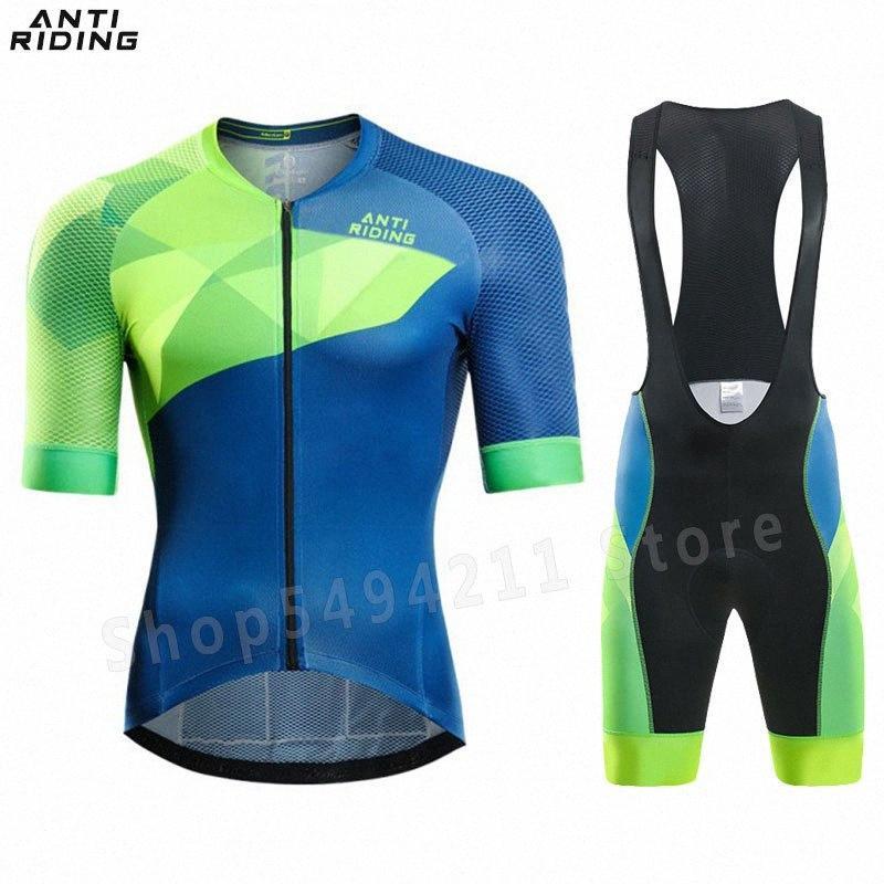 New einen.Kreislauf.durchmachenClothing Short Sleeve Jersey Set pro Rennrad Short-Kleidung-Sommer-Fahrrad Triathlon Skinsuit Zyklus Hemd HCAP #