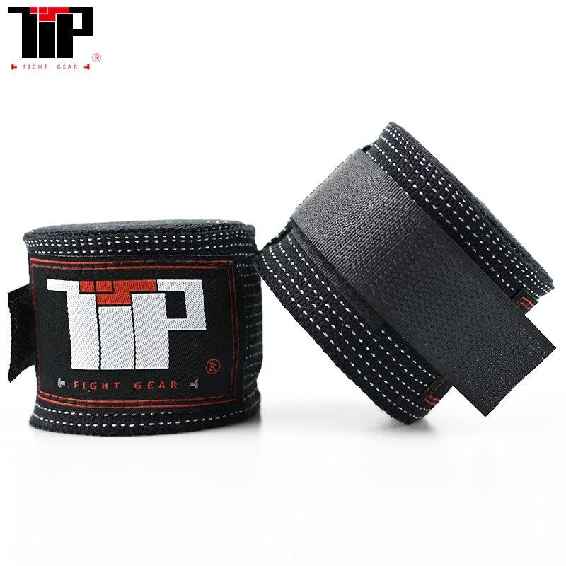 TTP boxeo boxeo pulsera brazalete de 5 m m Sanda vendaje correa de mano venda elástica de combate 5 metros