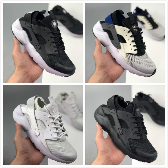 Фабрика интернет-магазин оптом мужская Huarache 4 кроссовки мужчины женщины хорошее качество кроссовки Huarache кроссовки кроссовки большой размер 45 US11