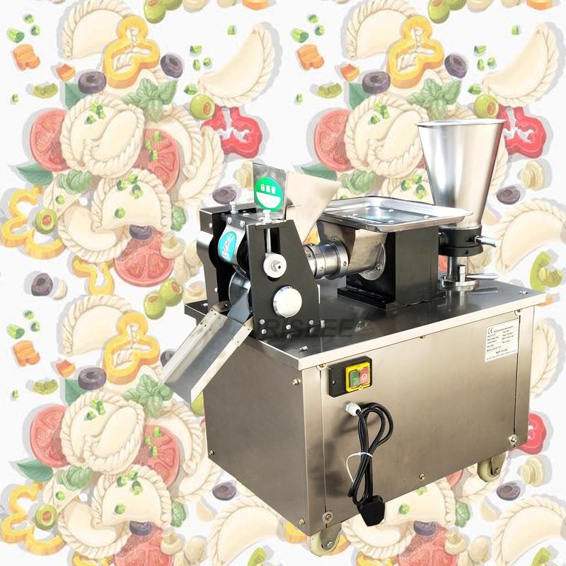 2020 sıcak Dumpling makinesi Samosa Makine otomatik köfte makinesi 4800pcs yapma / h Paslanmaz çelik Dumpling makinesi 220v sarıcı