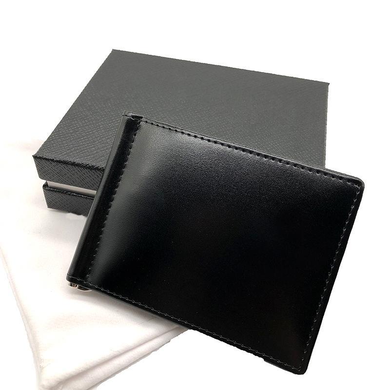 Los hombres de carpetas de la manera Bolsas Thin bolsillo Carteras, los titulares de cuero de la tarjeta monedero Bolsas bolsos del bolso de la tarjeta de Pequeño
