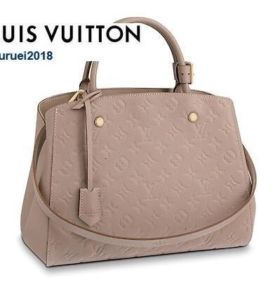 luoyuruei2018 M43929 MONTAIGNE MM goffratura reale Caviar agnello Le Boy catena Flap Bag Borse Tracolle MESSENGER TOTES