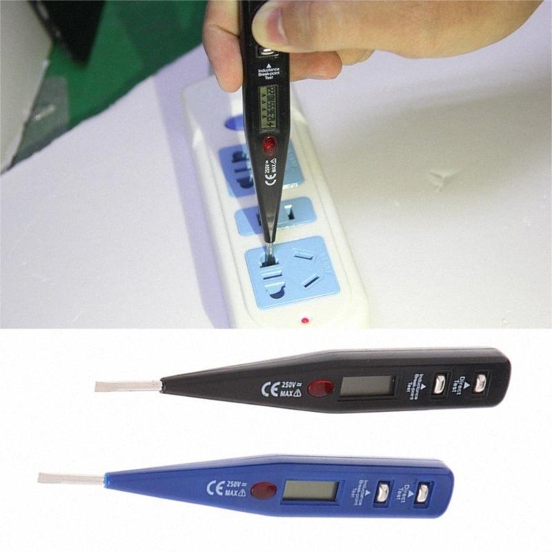 AC DC 12 250V numérique de tension Compteur électrique Testeur Détecteur Inductance Capteur JjCW #