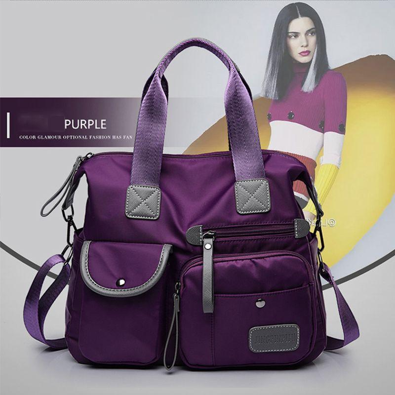 Multifunction Casual Handbags for Women Large Capacity Messenger Tote Nylon Crossbody Bags Shoulder Bag Totes Bolsa Feminina