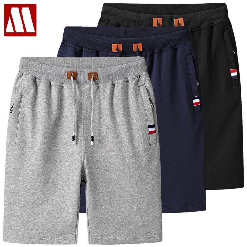 Летние шорты Мужчины моды Марка Boardshorts дышащий Мужчины вскользь шорты Удобный плюс размер Фитнес Mens Бодибилдинг