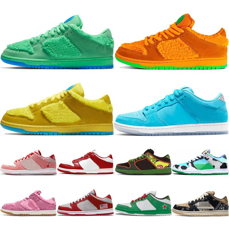 SB Dunk Della X Triple Black Women White Men Running Shoes riflettente Bred MSCHF x INRI Gesù Imbattuto nastro mens scarpe da tennis di sport