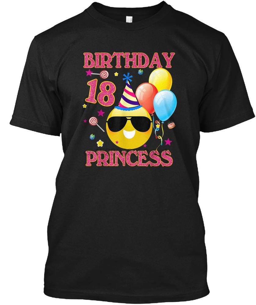 Hommes T-shirt 18ème Cadeaux d'anniversaire d'anniversaire Princesse Gi femmes T-shirt