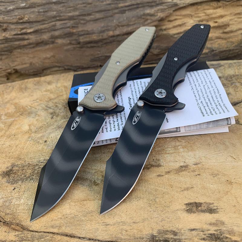 Recommander ZT 0393 lame couteau pliant tactique balle palier de retournement G10 poignée poche survie chasse camping en plein air couteaux EDC