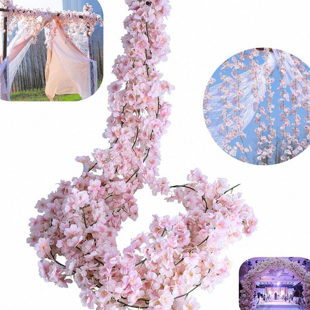 2020 MeterMall 1.8M / 5.9FT Artificial Cherry Blossom Rattan Wreath Party Wedding  Decor AO24# From Walmarts, $25.52 | DHgate.Com