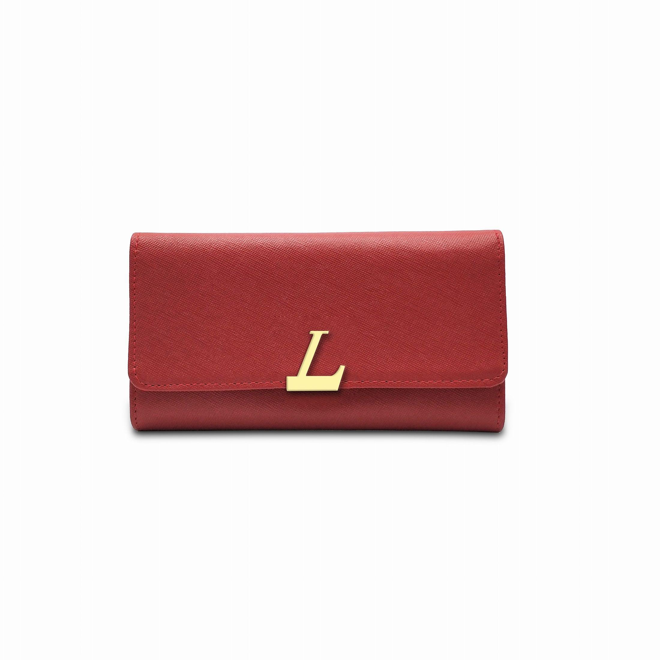Les femmes portefeuille ce portefeuille élégant en 2 repliable volets vous donne beaucoup d'espace pour les cartes de crédit, pièces et billets. expédition avec la boîte