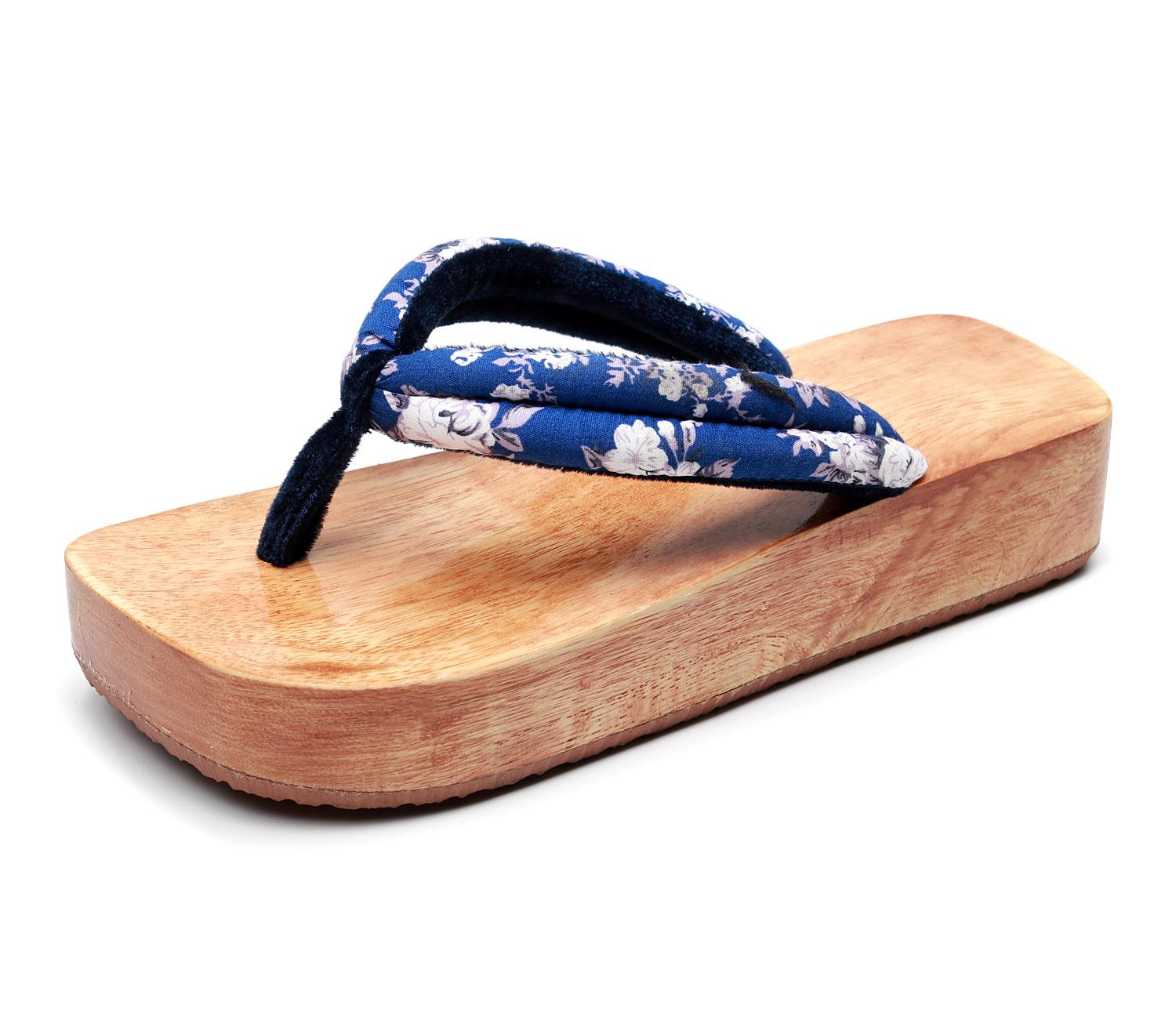 Summer Japanese Wood Clogs Anime Cosplay Shoes Oriental Chinese Traditional High-heeled Geta Clogs Women Man Wooden Paulownia Slippers