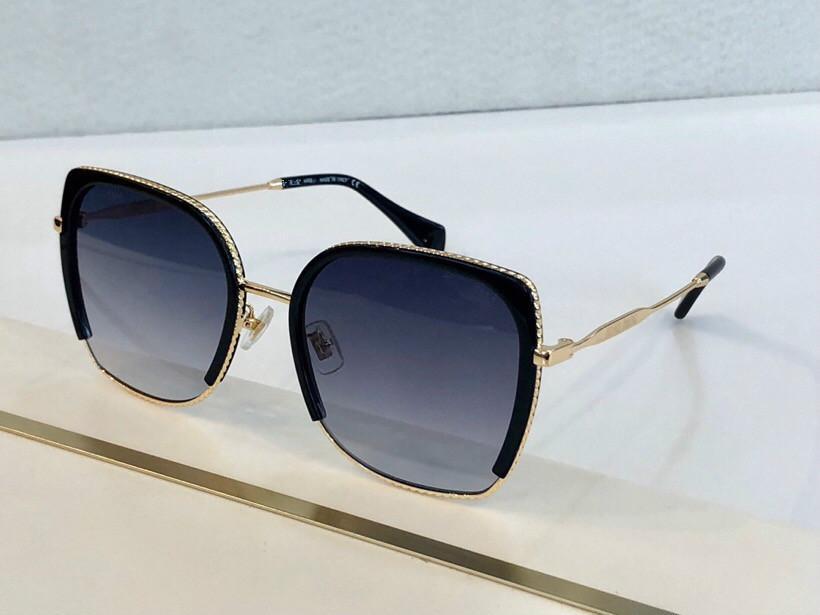 Sonnenbrillen für Frauen Designer Beliebte Frameless-Blumen-Form-Sonnenbrille Kristall Metarial Mode Frauen Art kommen mit rosa Fall 2020 New