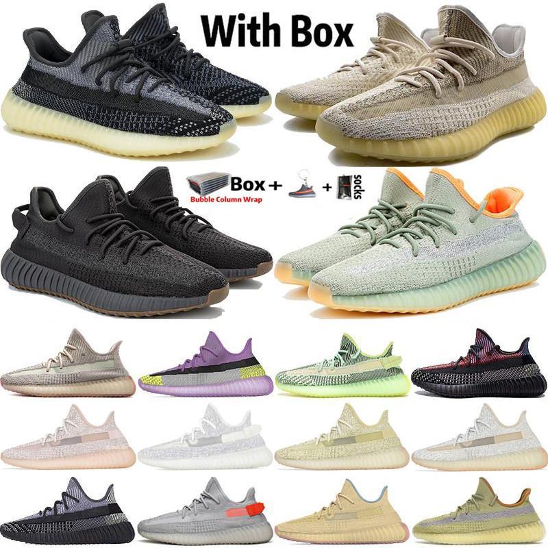 2020 Big Size 13 Kanye West Abez Asriel Oreo Israfil Eliada Deserto Terra Sage Cinder V2 riflettente Mens Women Running Shoes Designer Sneaker