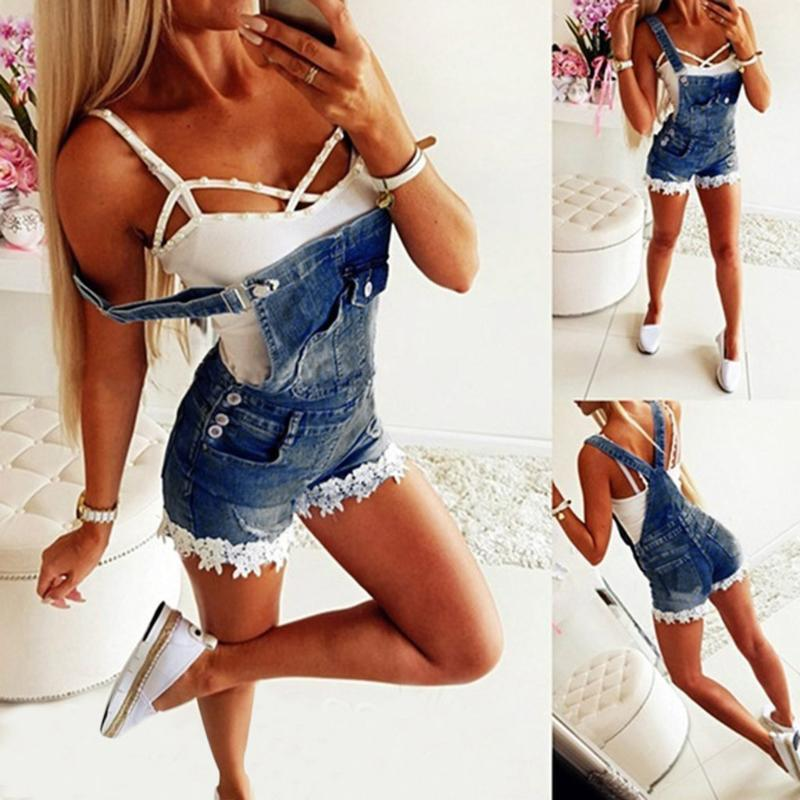 Free Ostrich Hot Plus Size Women Summer Short Jeans Overalls Stretchy Shorts Solid Slim Summer Women High Waist Sexy Shorts