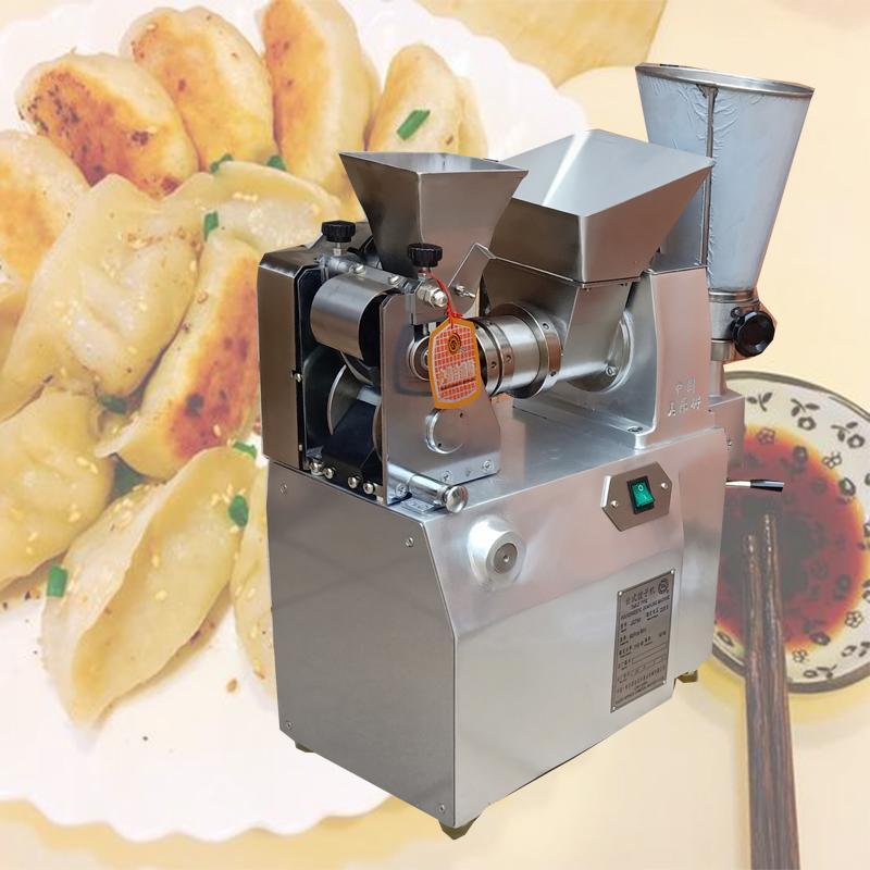 La nouvelle conception automatique Dumpling machine machine à empanada / demi-lune forme machine boulette tourtière machine Rouleau de printemps
