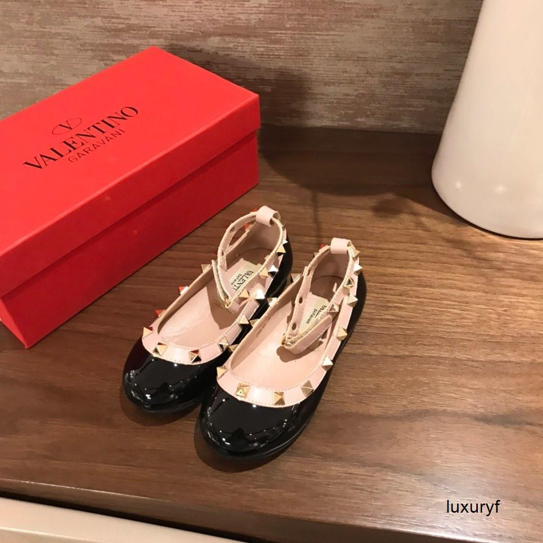 Новая мода Удобная круглая голова девушки вскользь высокого качества моды принцесса обувь