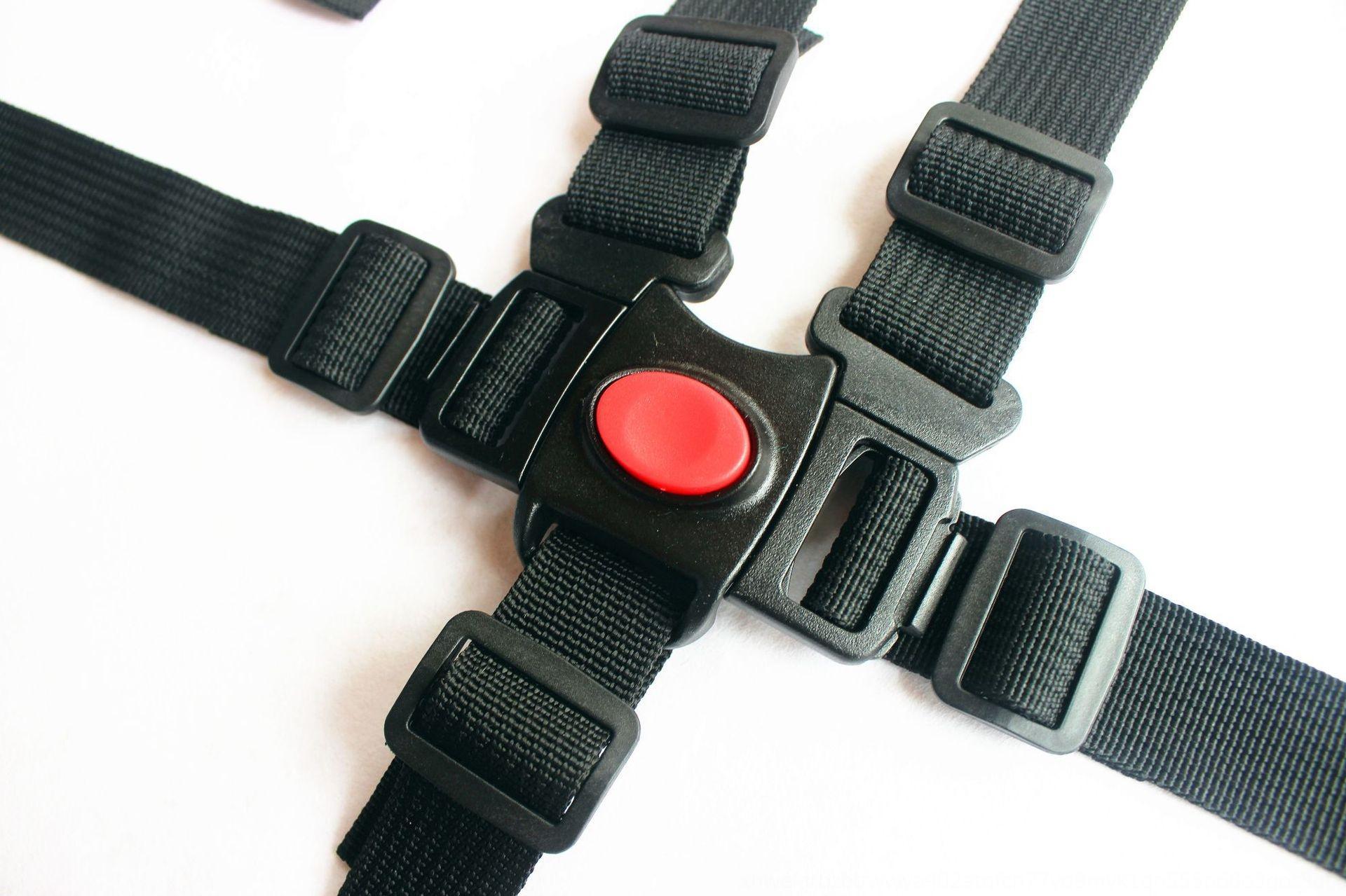 Accessoires 5 points 3 points chaise à manger pour les enfants ceinture accessoires bébé fixe poussette fessière ceinture de sécurité