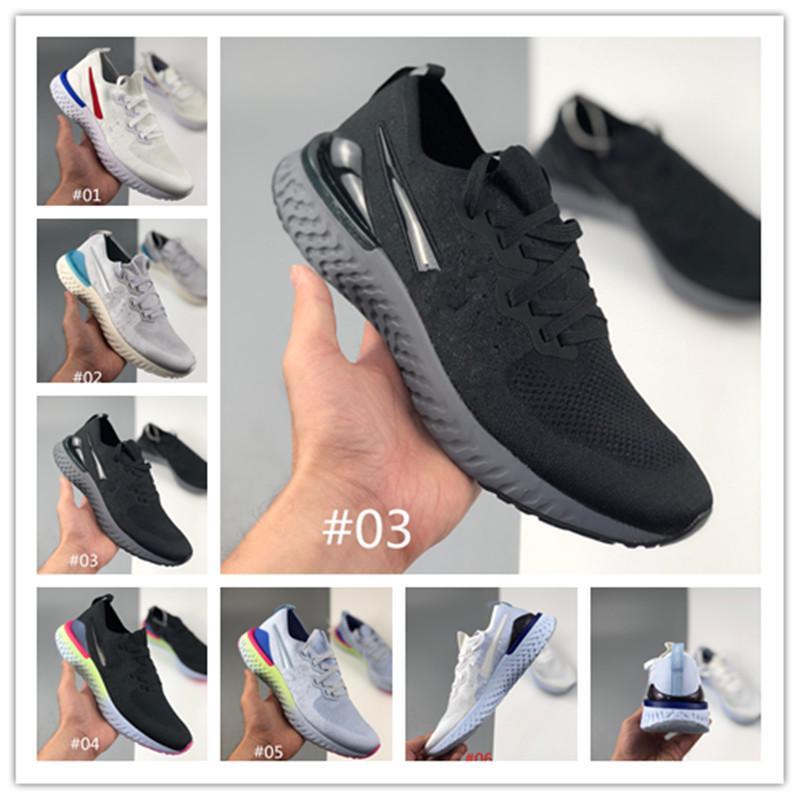 2020 02 Epic koşu ayakkabıları Infinity Run erkekler kadınlar Nefes sporu atletik spor ayakkabısı örgü örüyor Tepki