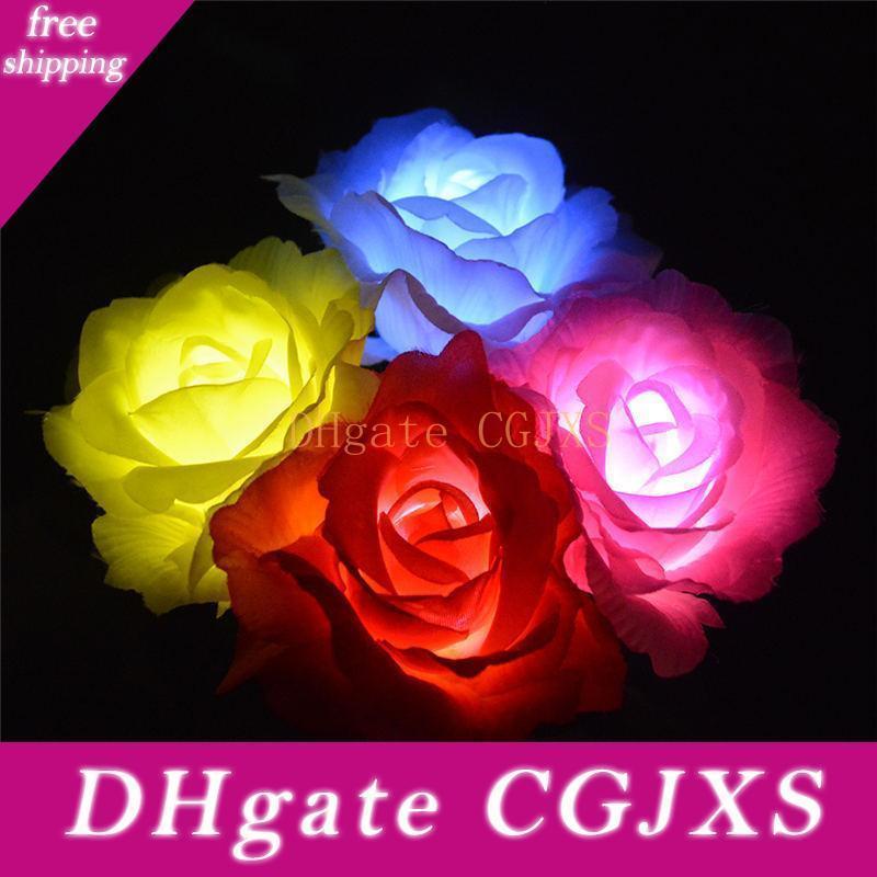 FS 2V / 60mA 태양 전원 꽃 Led 빛 정원 지분 풍경 램프 야외 마당 Led 빛