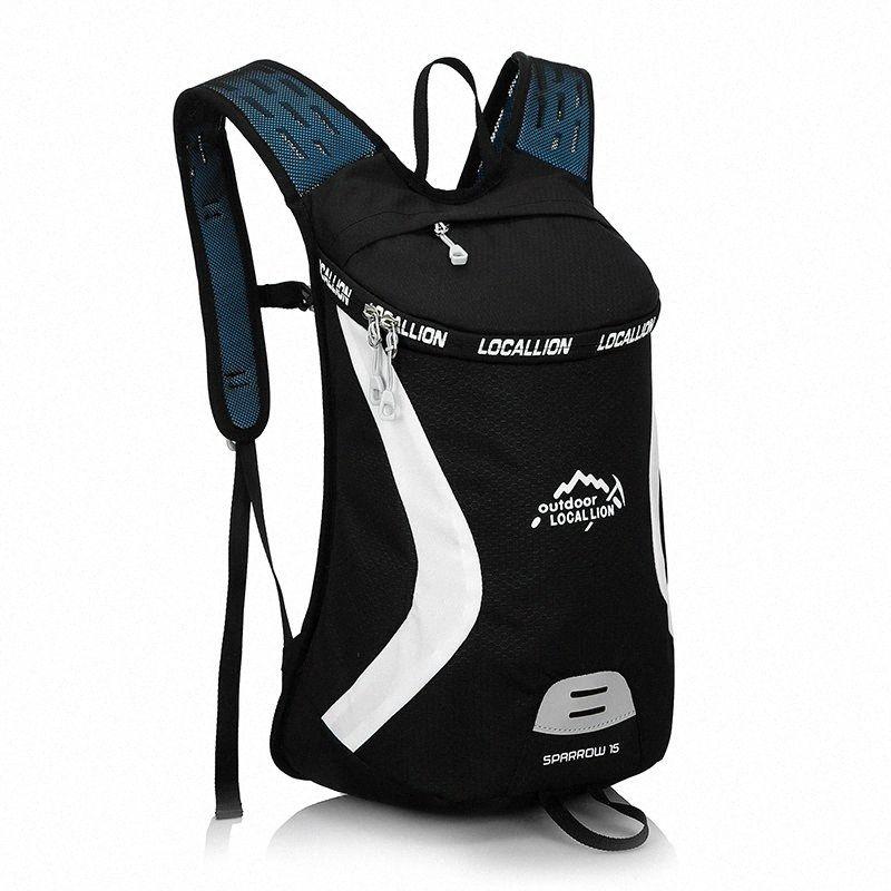 NOVO 15L Camping Water Bag Estrada Mountain Bike do esporte que funciona ao ar livre Caminhadas Mochilas 3zVG #