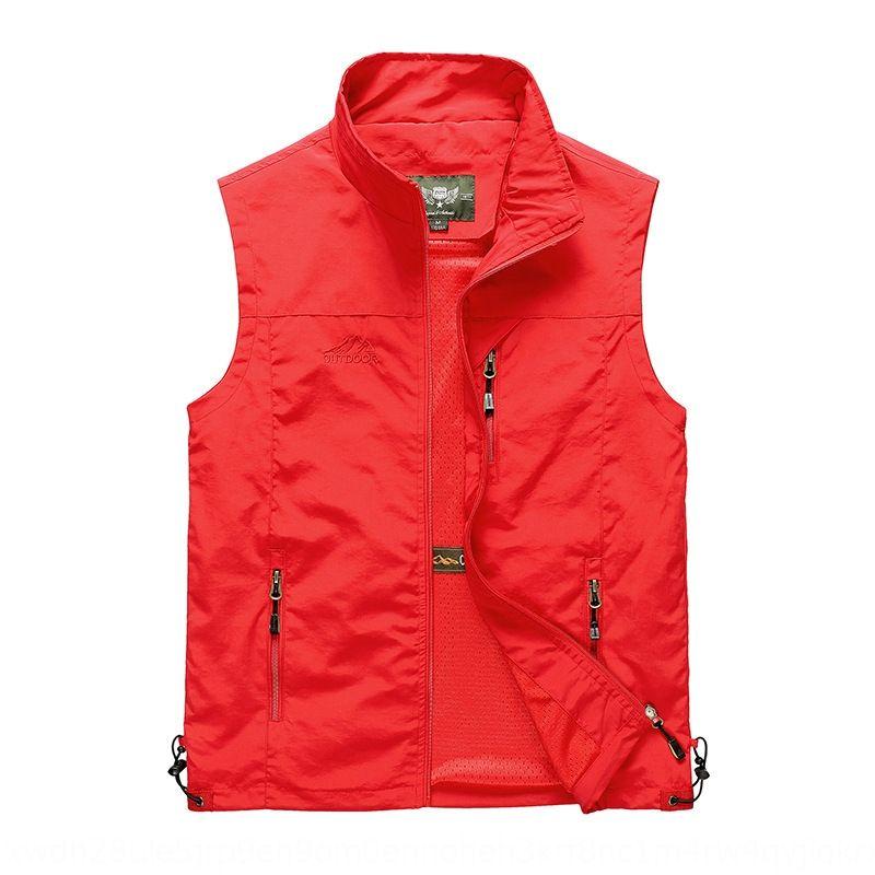 Nuovo collare stare sciolto camera cappotto casuale degli uomini cappotto della maglia ampia corsa dimensione giubbotto macchina fotografica di pesca