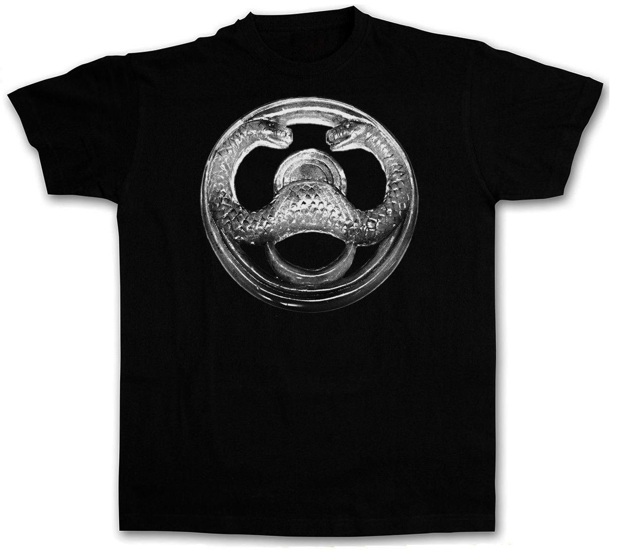 T-shirt engraçado Thulsa Doom Logo I Camiseta Conan Filme Barbarian Arnold Schwarzenegger Cult manga curta